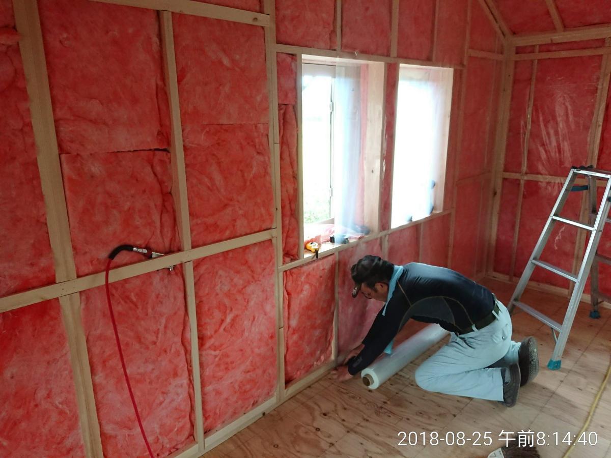 外壁(内側)の断熱仕様