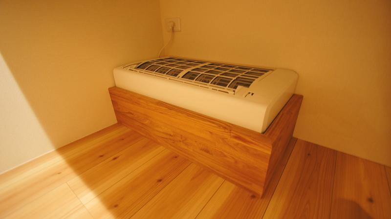 床下・階間エアコンで家中快適住宅
