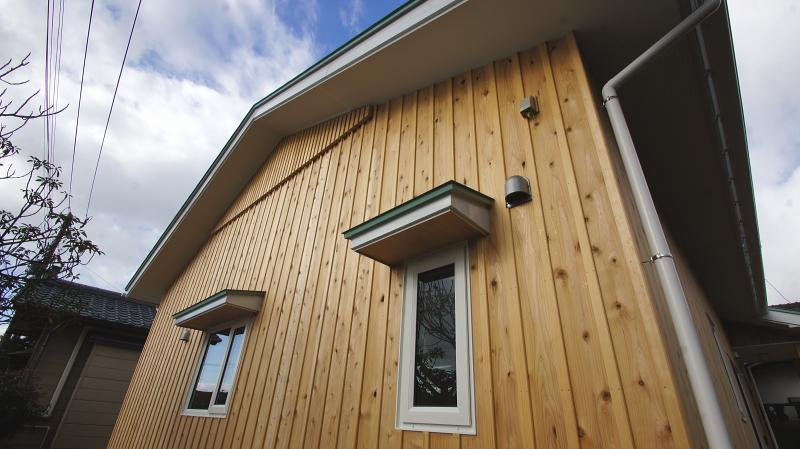 エアコン1台で暖かい平屋の住宅